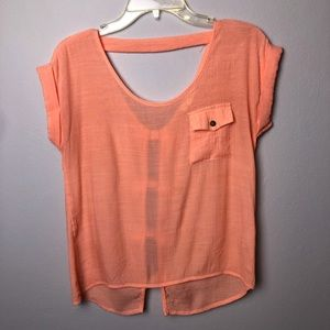 Mine Top with Bow Detail